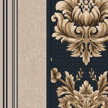 Duka Duka Sawoy Margie Dk.171514  Desenli Renkli Duvar Kağıdı 10 M2 Renkli